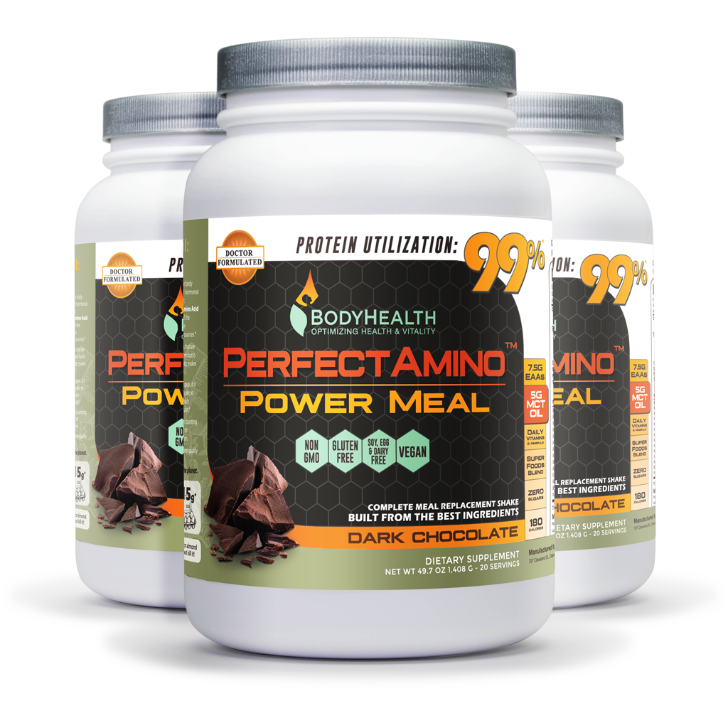 BodyHealth PerfectAmino Power Meal 3 pack