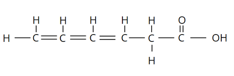 Elemental makeup of Polyunsaturated Fats