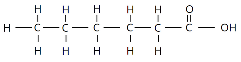Elemental makeup of Saturated Fats