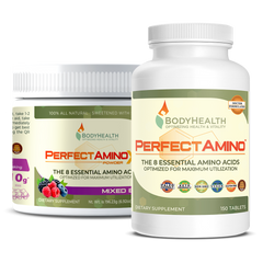 PerfectAmino Tablets and Powder by BodyHealth