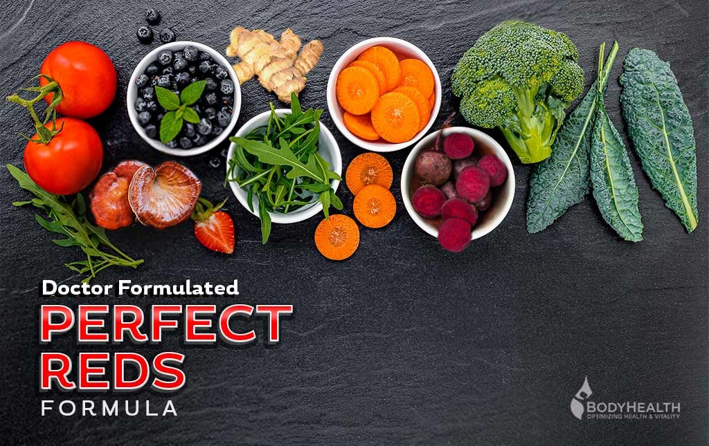 Perfect Reds - The Organic Phytonutrient & Superfood Reds Drink