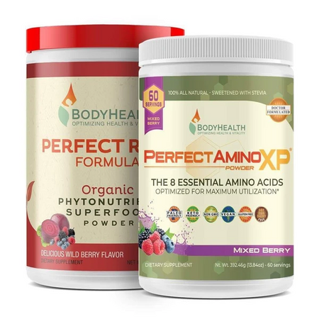 Performance Energy Stack - Perfect Reds and PerfectAminoXP