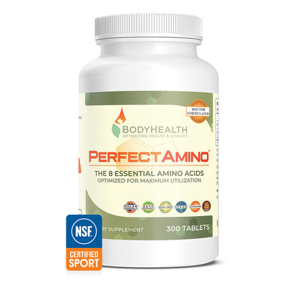 BodyHealth PerfectAmino Tablets 3000 count bottle