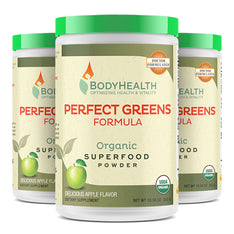 BodyHealth Perfect Reds Organic Phytonutrient Superfood Powder pack of 3
