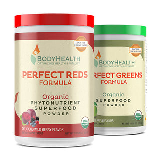 Perfect Reds and Perfect Greens Superfood Multi Bundle