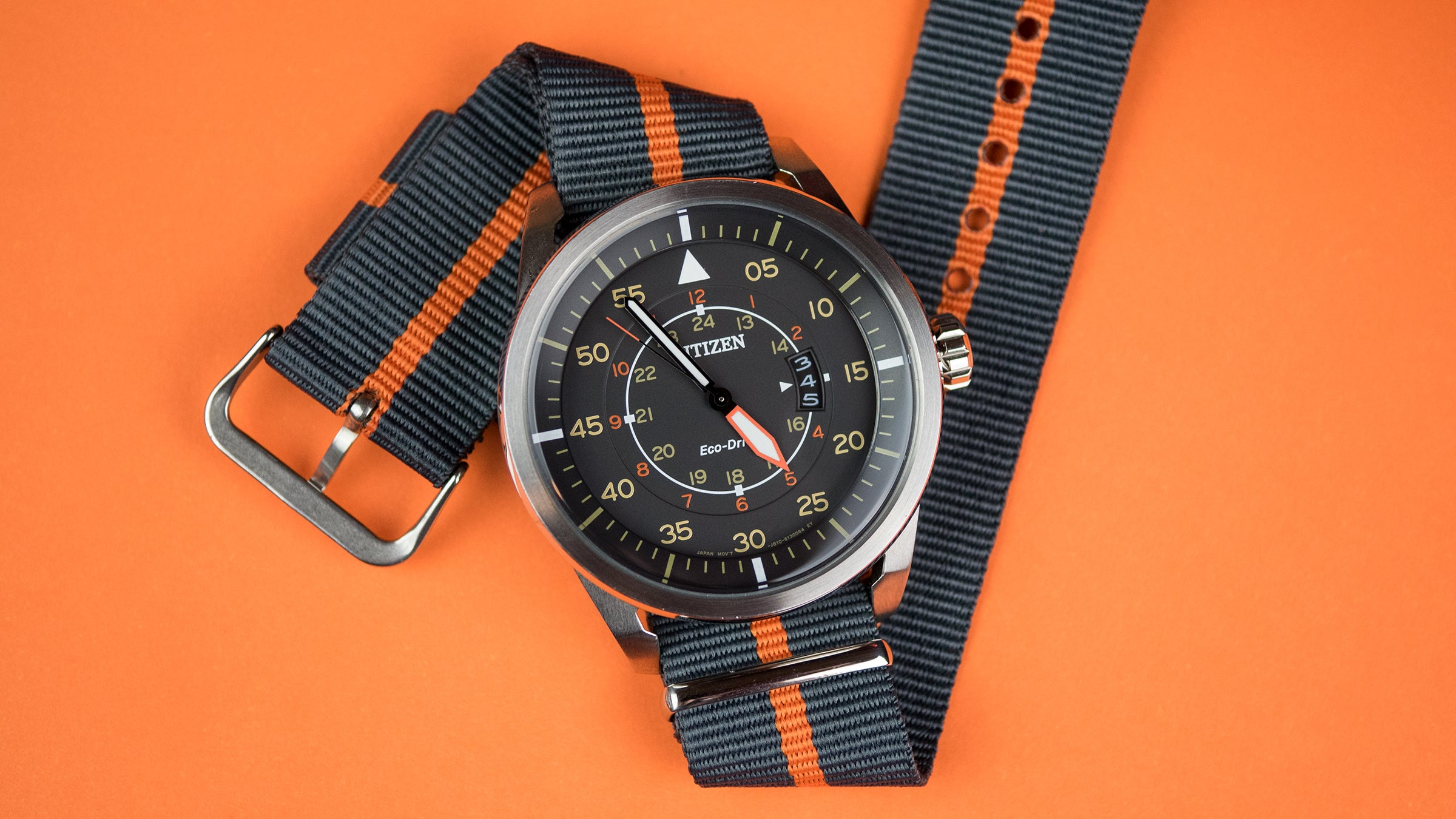 nylon NATO style watch strap