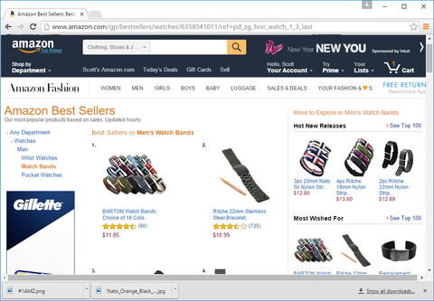 Amazon Best Sellers Barton Watch Bands