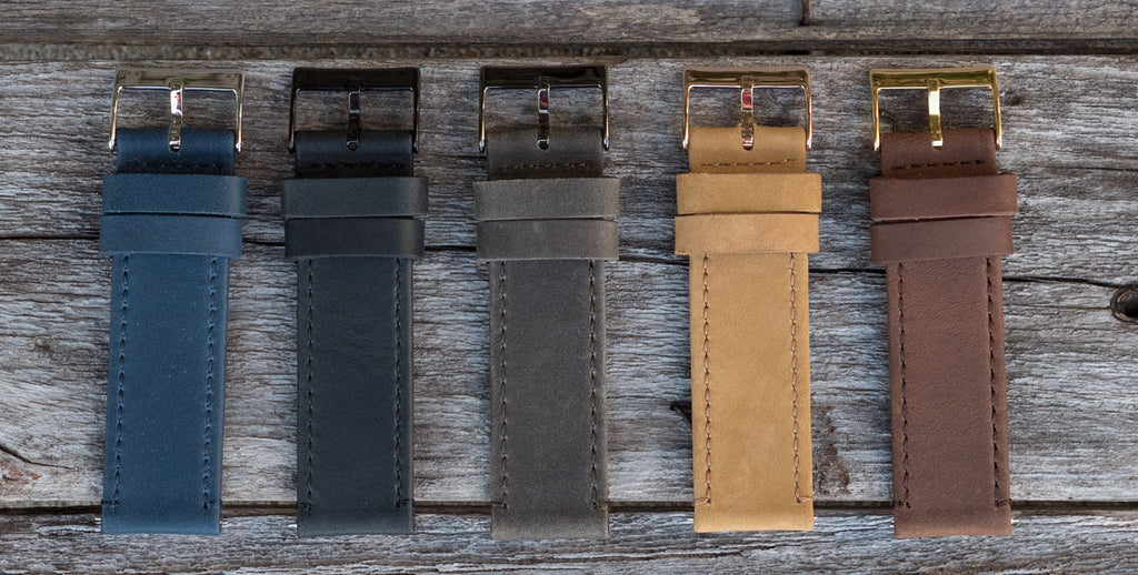 leather quick release strap buckle options