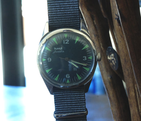 HMT Janata on Nylon NATO