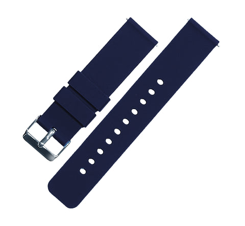 Navy Blue Silicone Quick Release