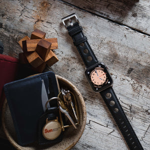 Apple Watch | Black Rally Horween Leather