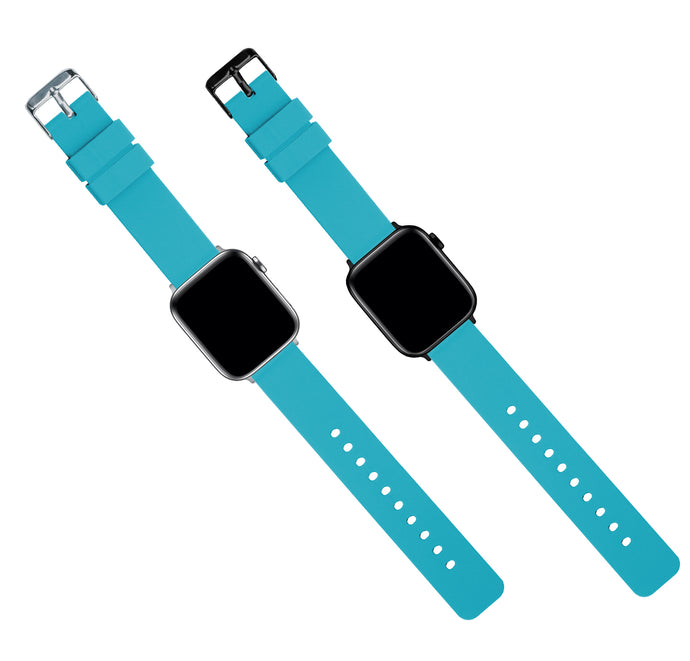 Apple Watch | Silicone | Aqua Blue