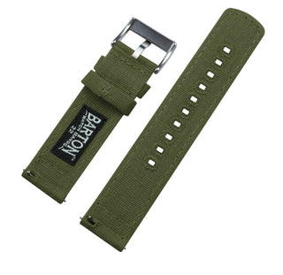 Load image into Gallery viewer, Samsung Galaxy Watch3 | Army Green Canvas