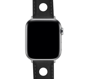 Apple Watch | Black Rally Horween Leather - Barton Watch Bands