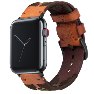 Load image into Gallery viewer, Apple Watch | Gaucho | Brown & Green