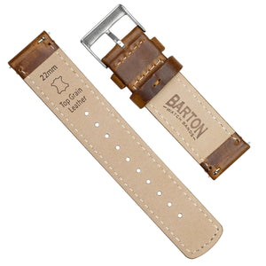 Pebble Smart Watches | Weathered Brown Leather
