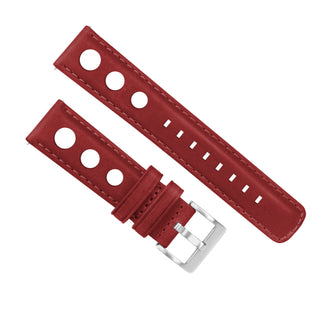 Load image into Gallery viewer, Crimson Red | Rally Horween Leather - Barton Watch Bands