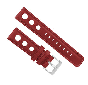 Crimson Red | Rally Horween Leather - Barton Watch Bands