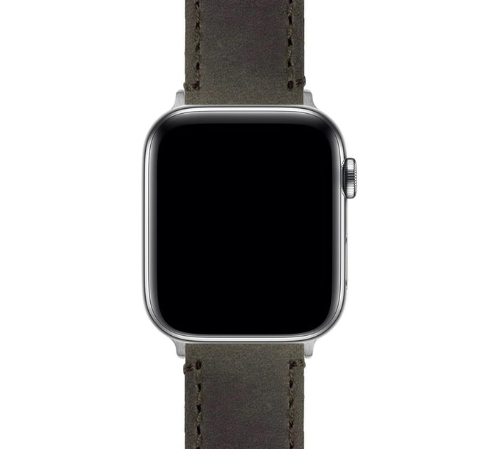 Apple Watch | Espresso Leather & Stitching