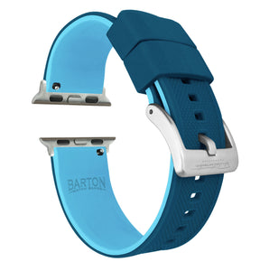 Apple Watch | Elite Silicone | Flatwater Blue - Barton Watch Bands
