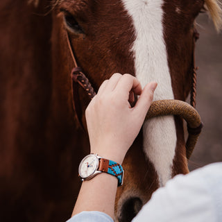 Load image into Gallery viewer, Turquoise & Sky | Gaucho - Barton Watch Bands