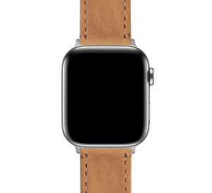 Apple Watch | Gingerbread Leather & Stitching - Barton Watch Bands