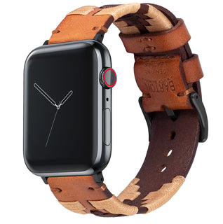 Load image into Gallery viewer, Apple Watch | Gaucho | Khaki & Brown