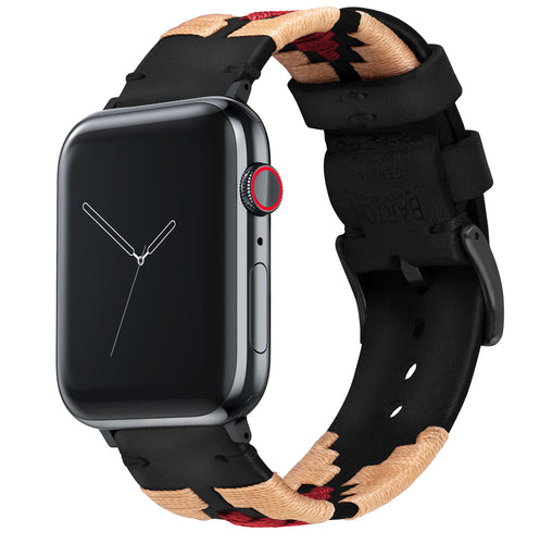 Apple Watch | Gaucho | Khaki & Crimson