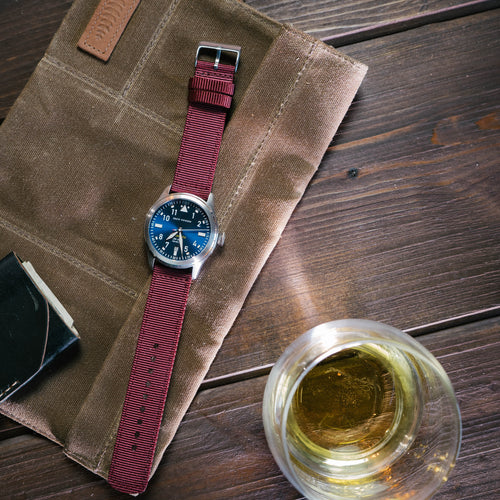 Merlot | Two-Piece NATO Style - Barton Watch Bands