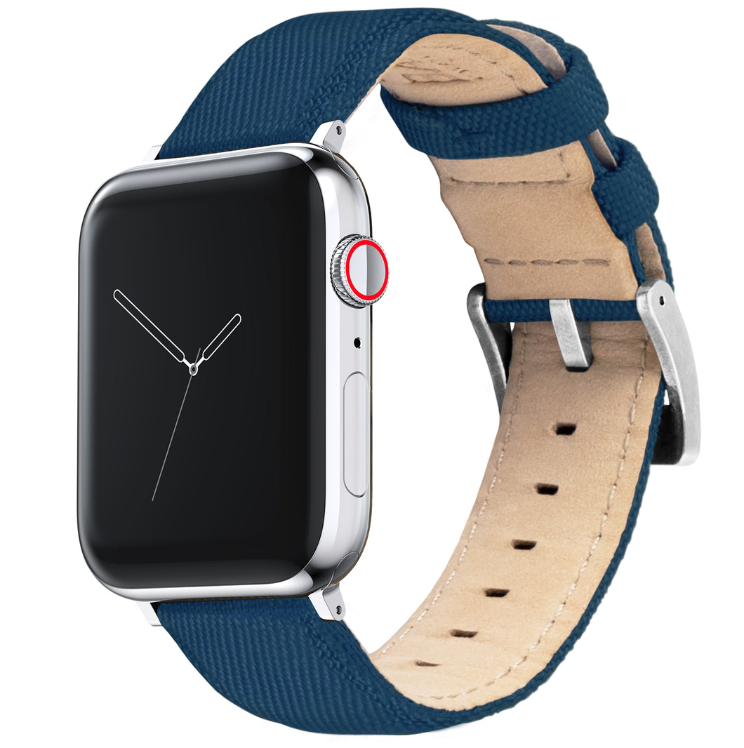 Apple Watch | Navy Blue Sailcloth