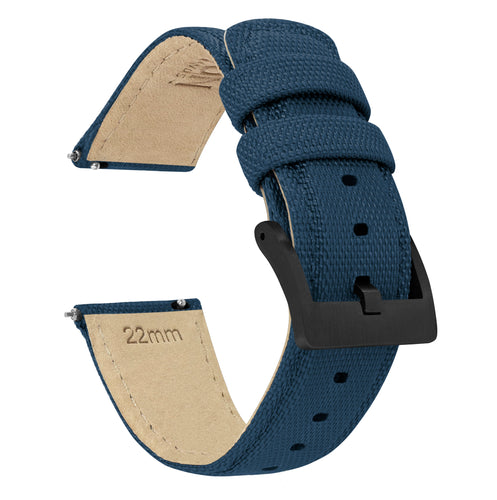 Mobvoi TicWatch | Sailcloth Quick Release | Navy Blue