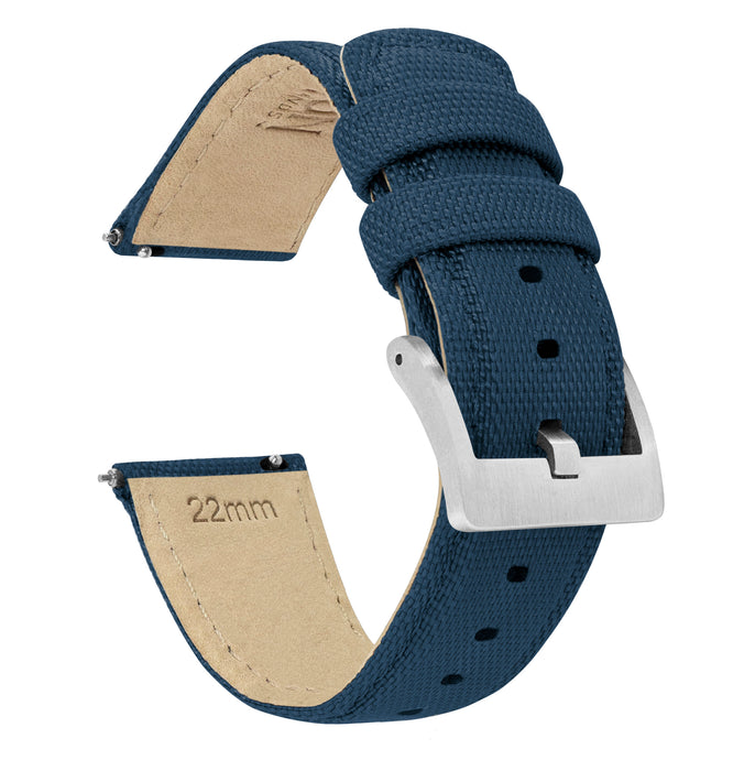Fossil Sport | Sailcloth Quick Release | Navy Blue