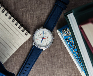 Load image into Gallery viewer, Navy Blue | Sailcloth Quick Release - Barton Watch Bands