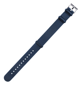 Navy Blue | Leather NATO Style - Barton Watch Bands