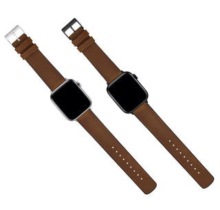 Load image into Gallery viewer, Apple Watch | Oak Brown Leather and Rubber Hybrid