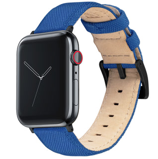 Load image into Gallery viewer, Apple Watch | Royal Blue Sailcloth