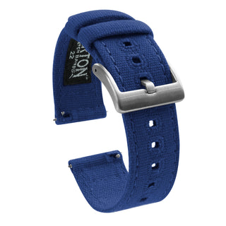 Load image into Gallery viewer, Fossil Gen 5 | Royal Blue Canvas