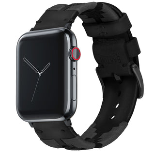 Load image into Gallery viewer, Apple Watch | Gaucho | Smoke & Black - Barton Watch Bands