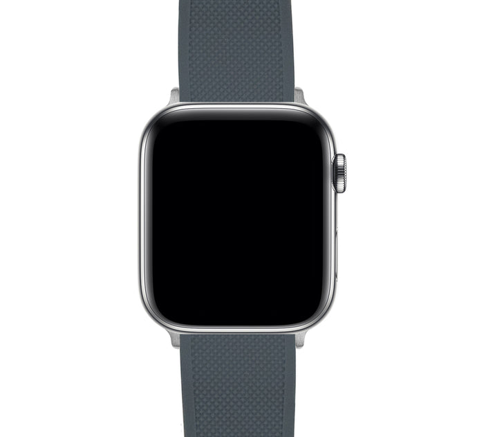 Apple Watch | Elite Silicone | Smoke Grey Top / Mint Green Bottom