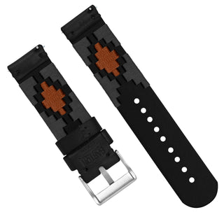 Load image into Gallery viewer, Smoke & Orange | Gaucho - Barton Watch Bands