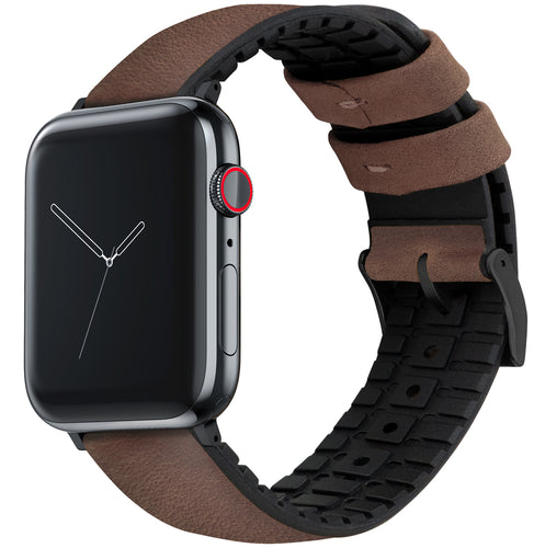 Apple Watch | Walnut Brown Leather Hybrid