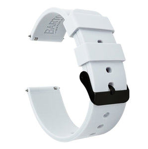 Amazfit Bip  | Silicone | White - Barton Watch Bands