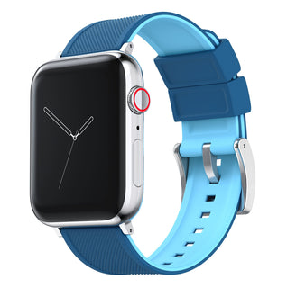 Load image into Gallery viewer, Apple Watch | Elite Silicone | Flatwater Blue - Barton Watch Bands