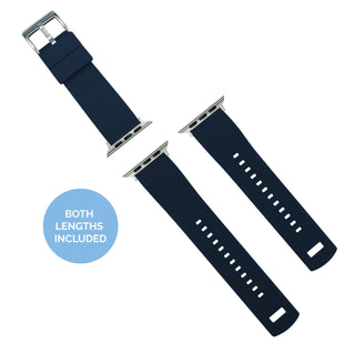 Load image into Gallery viewer, Apple Watch | Elite Silicone | Navy Blue Apple Watch Bands Barton Watch Bands