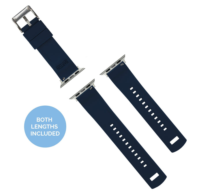 Apple Watch | Elite Silicone | Navy Blue Apple Watch Bands Barton Watch Bands