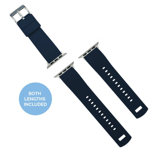 Load image into Gallery viewer, Apple Watch | Elite Silicone | Navy Blue Top / Crimson Red Bottom Apple Watch Bands Barton Watch Bands