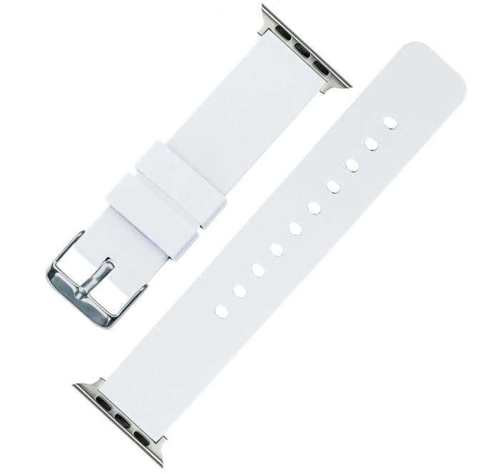 Apple Watch | Silicone | White Apple Watch Bands Barton Watch Bands