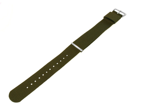 Army Green | Nylon NATO Style - Barton Watch Bands