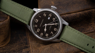 Load image into Gallery viewer, Army Green | Sailcloth Quick Release Sailcloth Quick Release Barton Watch Bands