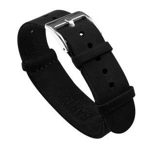Load image into Gallery viewer, Black | Leather NATO Style Leather NATO Style Barton Watch Bands